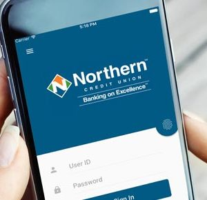 Northern banking login on phone