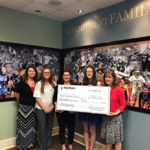 2018 Northern Credit Union Scholarship Recipients