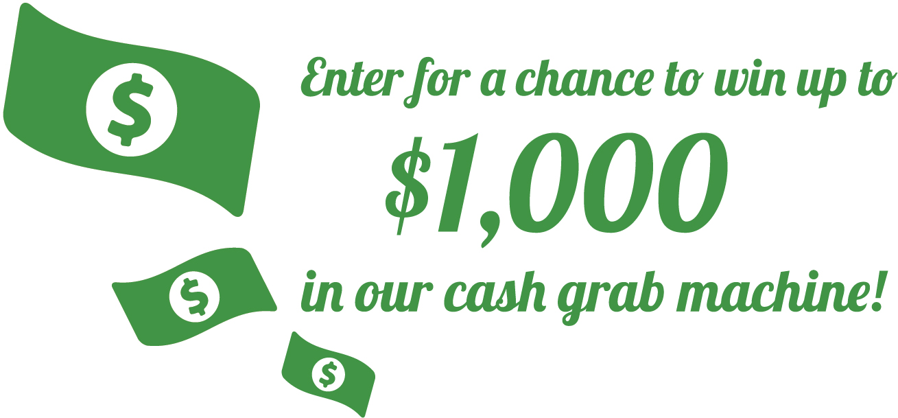 adams cash grab icon! win up to $1000